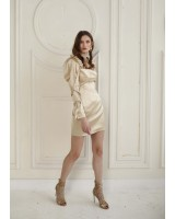 Mini dress with loose sleeves
