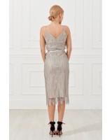 Мереживна сукня-майка