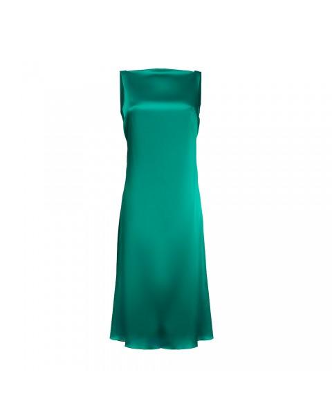 Сукня-комбінація з драпіруванням ''гойдалка'' на спинці