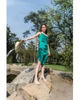 Сукня-комбінація з кулісами