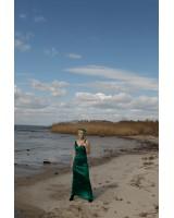 Сукня-комбинація, довжина максі