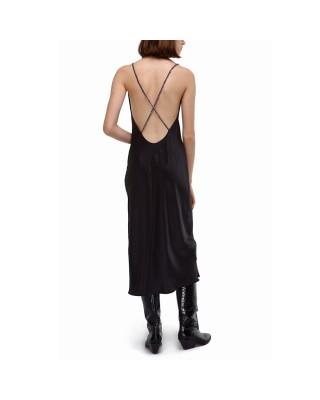 Сукня-комбінація із шовку