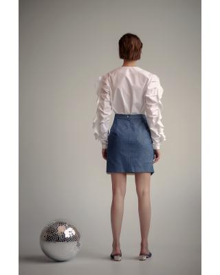 Спідниця міні джинсова