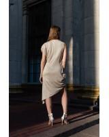 Міні-сукня з ниткою люрекс