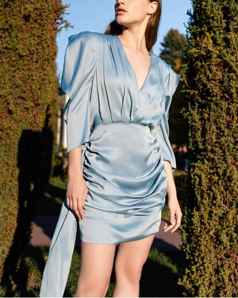 Сукня із шовку