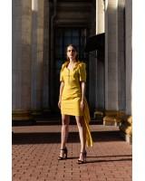 Сукня міні жовта