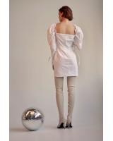 Сукня з об'ємними рукавами