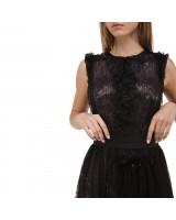 Сукня з плісированого мережива