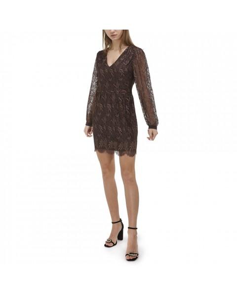 Міні-сукня із французьського мережива