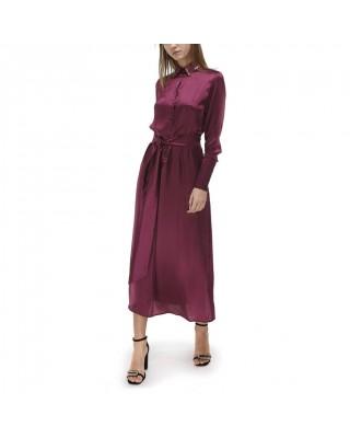 Сукня-рубашка зі 100% італійського шовку