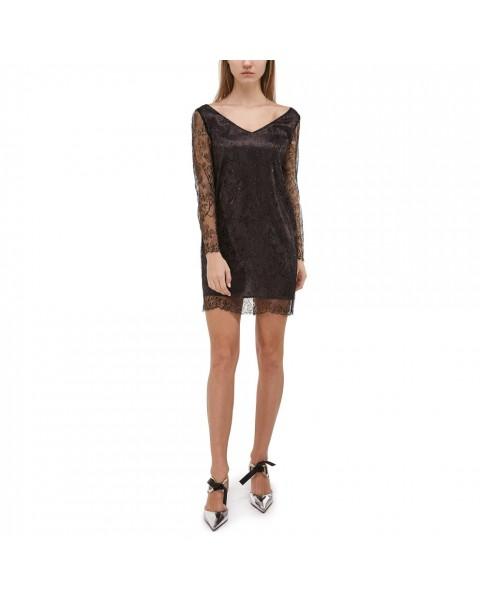 Міні-сукня з французького мережива  Solstiss