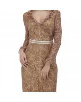 Мереживна сукня зі зйомним поясом