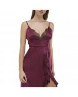 Сукня-комбінація зі зборкою спереду і зйомним поясом