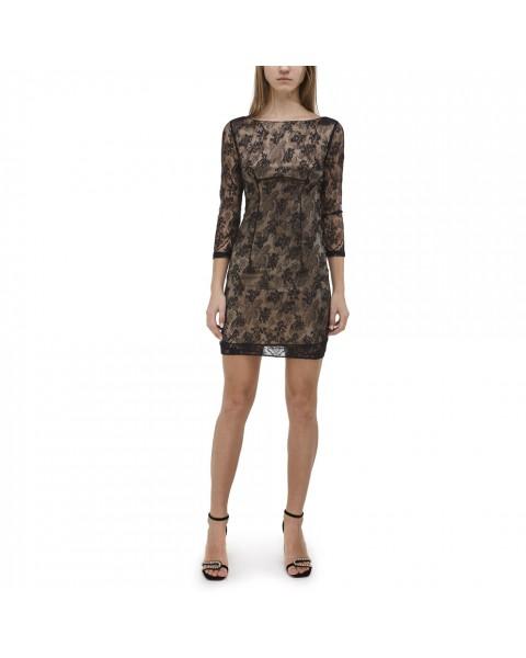 Мереживна сукня з відкритою спиною