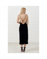 Оксамитова сукня-комбінація
