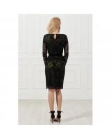 Мереживна сукня з підкладкою із шовку