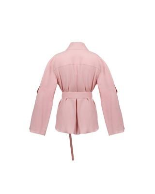 Блуза з розрізами на рукавах
