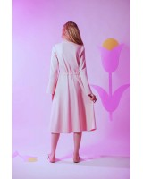 Трикотажна сукня міді