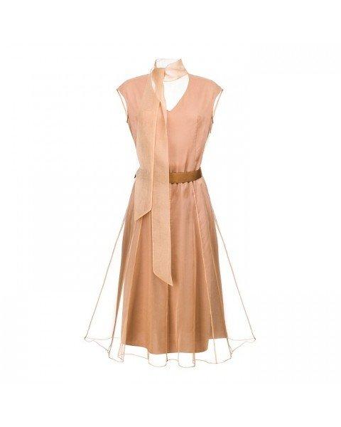 Приталена сукня А-силуету